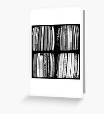 The Bookshelf Greeting Card