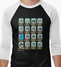 Doctorama Men's Baseball ¾ T-Shirt