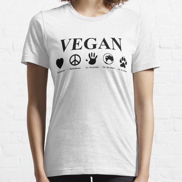 Zum Veganer werden Essential T-Shirt