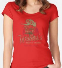 Walker's Bait N' Tackle Women's Fitted Scoop T-Shirt