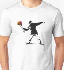banksy flower Unisex T-Shirt