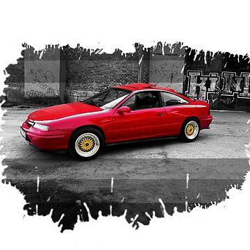 Opel Calibra by ZoldPardon
