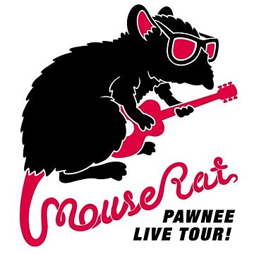 parks and rec mouse rat band by aniekandya