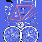 Bicycle parts by Chris Jackson