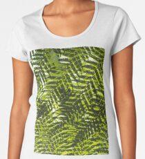 Overlapping Ferns Women's Premium T-Shirt