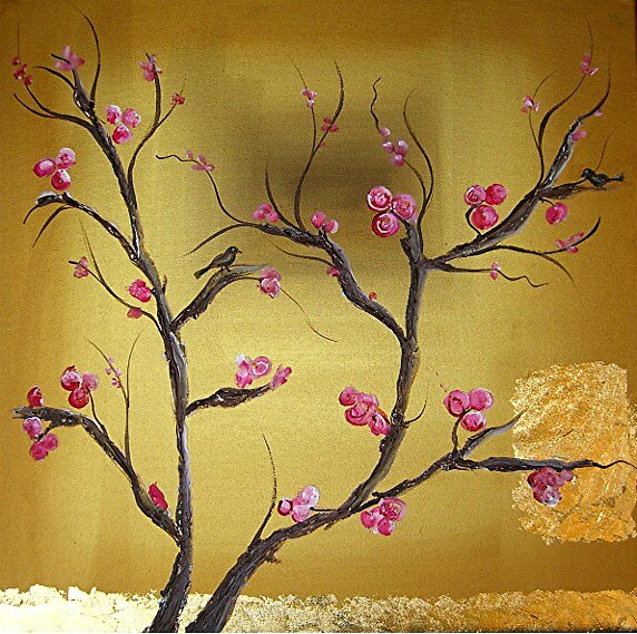 japanesse blossoms by alana janesse artist/ makeup artist