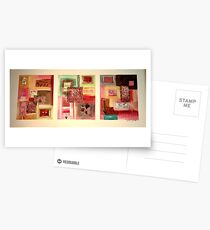 lacy abstract Postcards