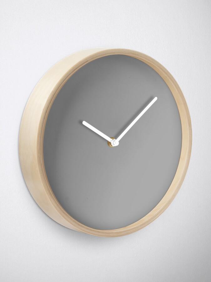 Alternate view of Dark Gray (X11) Clock