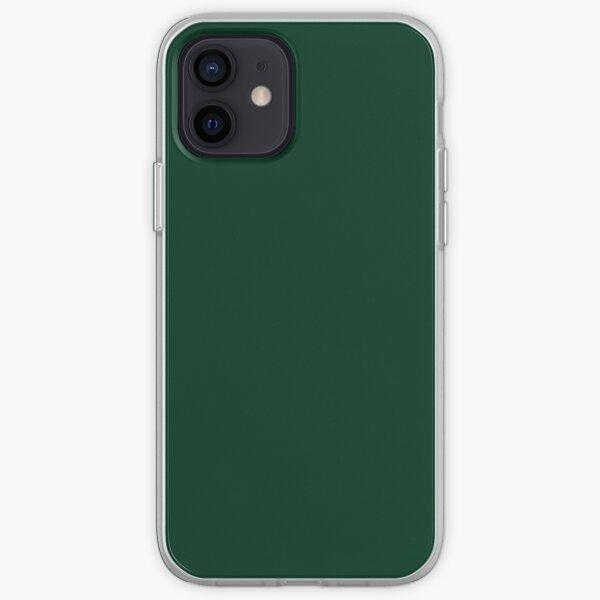 Dark Green iPhone Soft Case