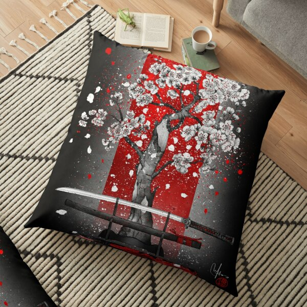 Samurai Floor Pillow