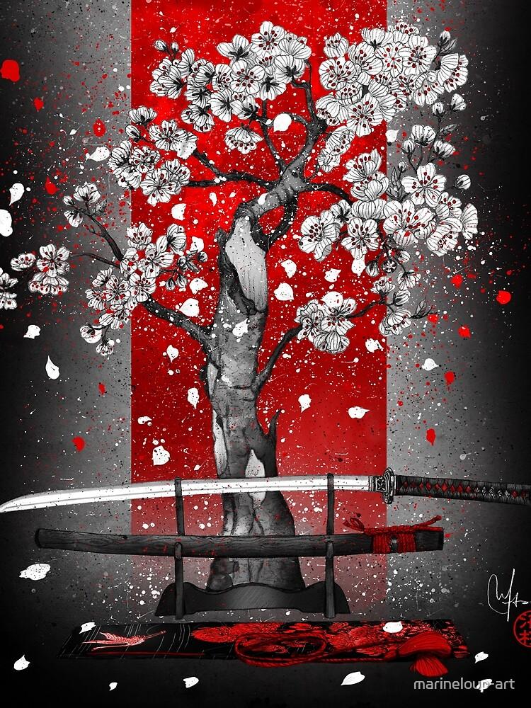 Samurai by marineloup-art