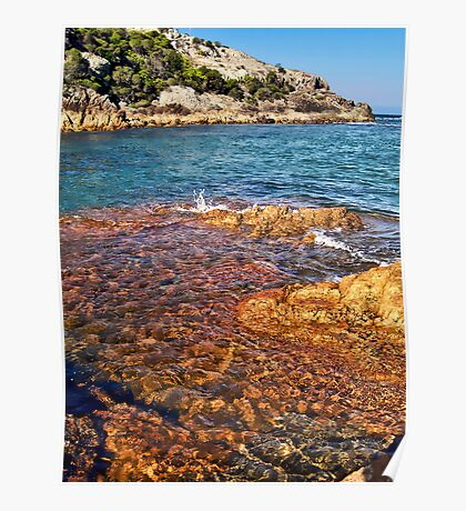 Waterscape: Kianinni Bay colours Poster