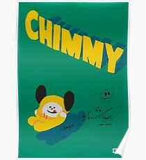 BT21 - CHIMMY (SIGNED VER.) Poster