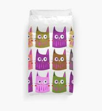 Little Cute kittens / Painted cartoon Duvet Cover