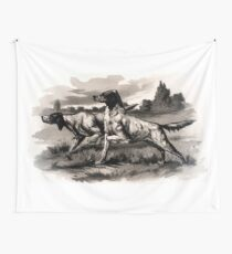 Hounds Wall Tapestry