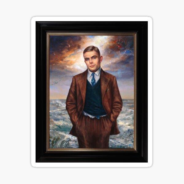 """Alan Turing"" by Maxime Xavier Sticker"