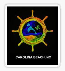 Ships Wheel (Carolina Beach, NC) Sticker