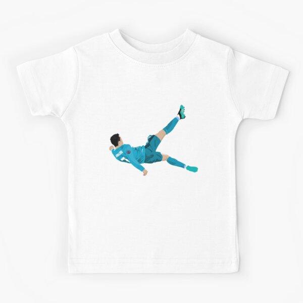 Cristiano Ronaldo Bicycle Kick Kids T-Shirt