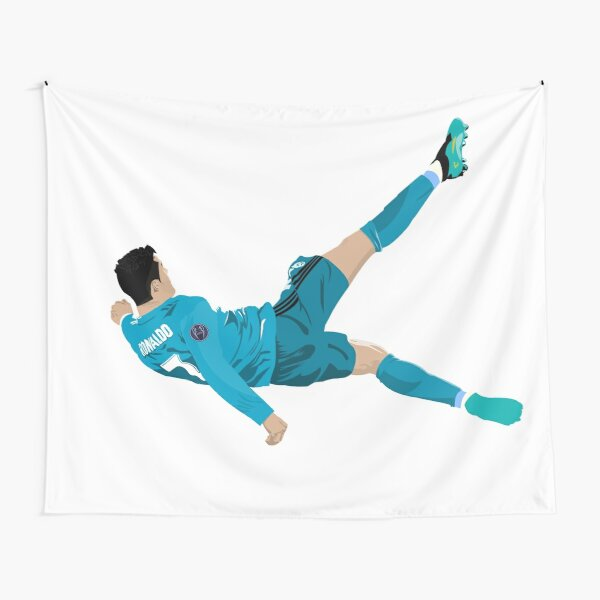 Cristiano Ronaldo Fahrrad Kick Wandbehang