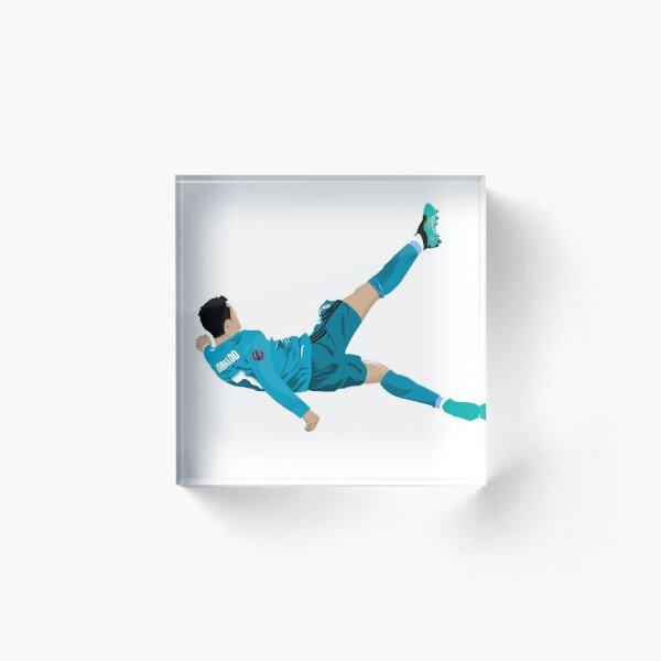Cristiano Ronaldo Bicycle Kick Bloc acrylique
