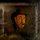 Selfportrait in Wild West style by egold
