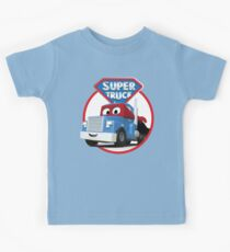 Carl the Super Truck of Car City Kids Tee