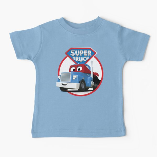 Carl the Super Truck of Car City Baby T-Shirt