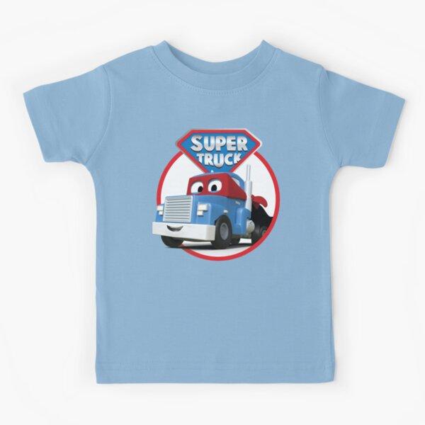 Carl the Super Truck of Car City Kids T-Shirt