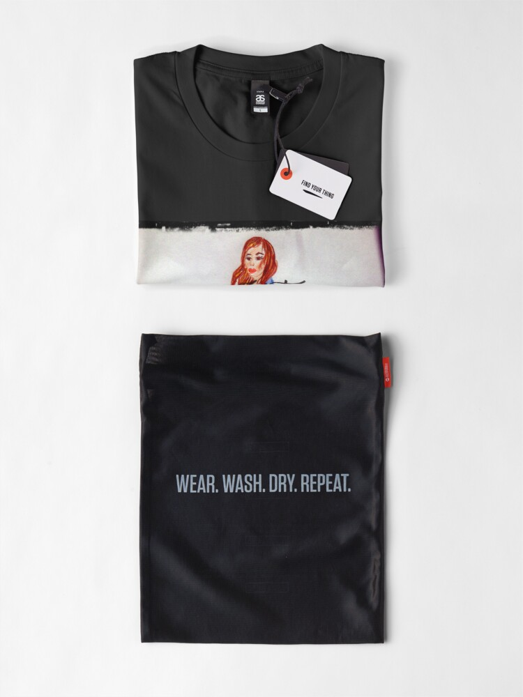 Alternate view of First Learn The Rules Then Break Them: Fashion Illustration Premium T-Shirt