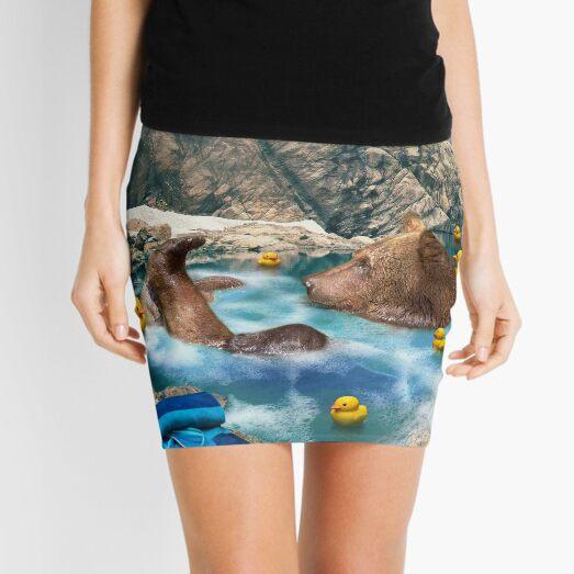 Bear Necessities Mini Skirt