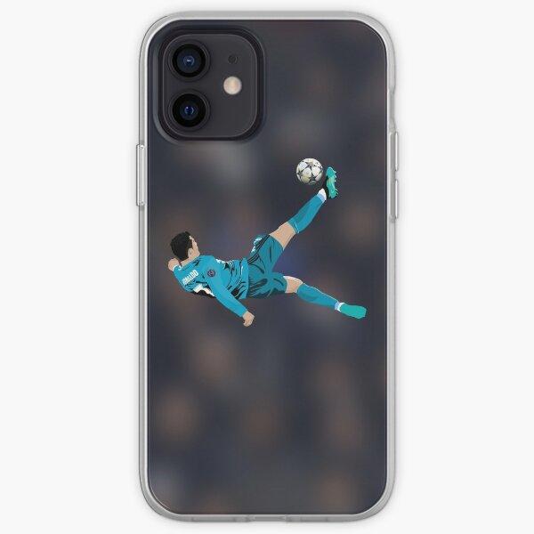 Cristiano Ronaldo Bicycle Kick Funda blanda para iPhone