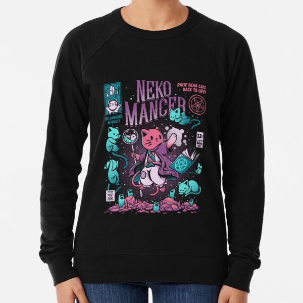 Nekomancer Lightweight Sweatshirt