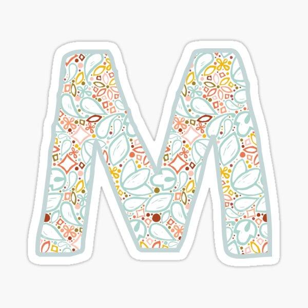 Letter M - Monogram Sticker