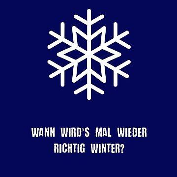 When will it finally be winter again? by aloism2604