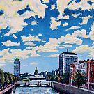 Liffey Clouds, Dublin, Ireland by eolai