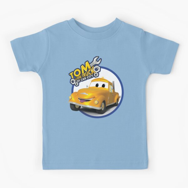 Tom the Tow Truck of Car City Kids T-Shirt