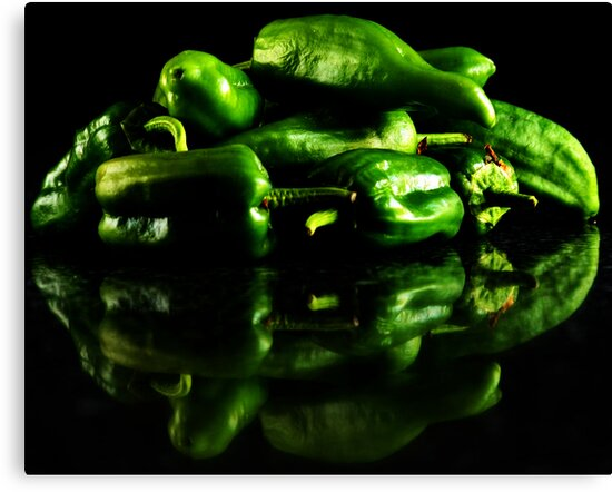 Hot Green by Ingrid Beddoes