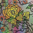 Beaded Roses... by linmarie
