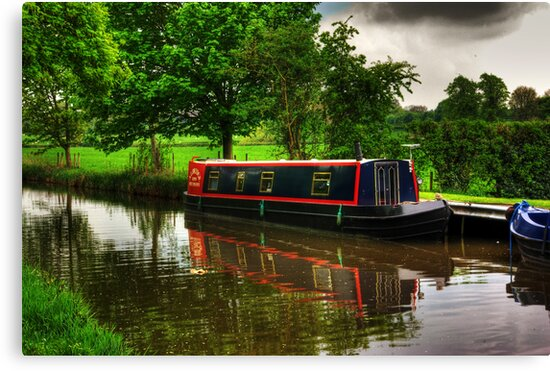 Canal Narrow Boat - Ripon by Trevor Kersley