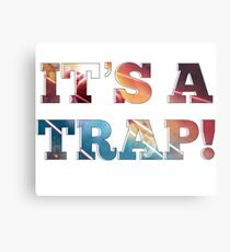 "Admiral Ackbar- ""It's a trap! Metal Print"