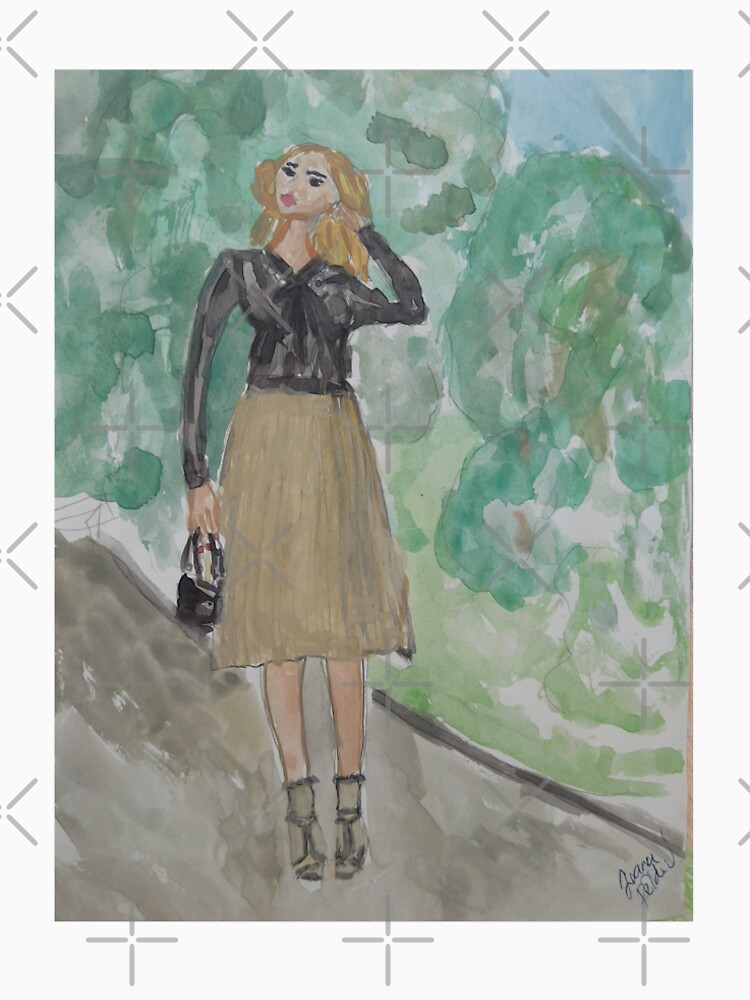 Fashion Illustration: A Feminine Outfit by IvanaKada