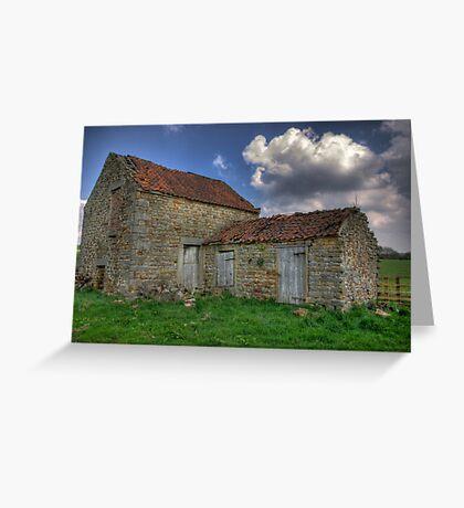 Old Barn - Lastingham North Yorkshire Greeting Card