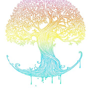 Tree of Life, genealogy, faith and mindfulness by SleeplessLady