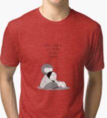 Einfach glücklich zu sein Vintage T-Shirt
