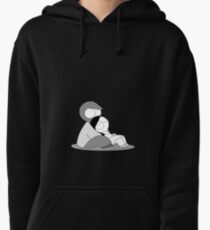 Easy To Be Happy Pullover Hoodie
