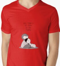 Easy To Be Happy Men's V-Neck T-Shirt