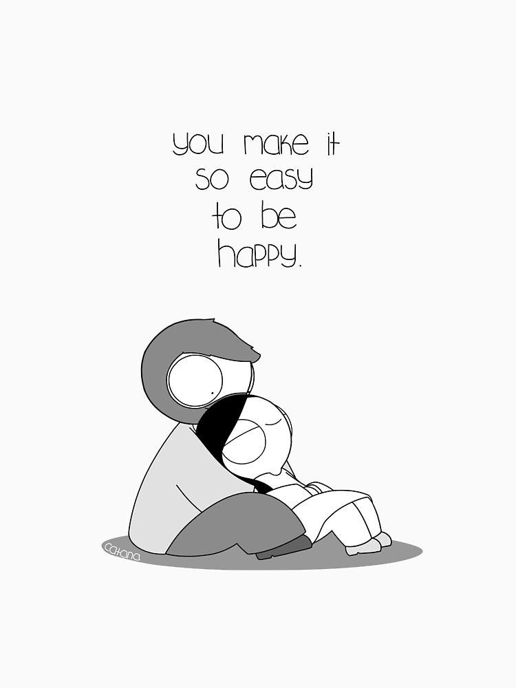 Easy To Be Happy by catanacomics