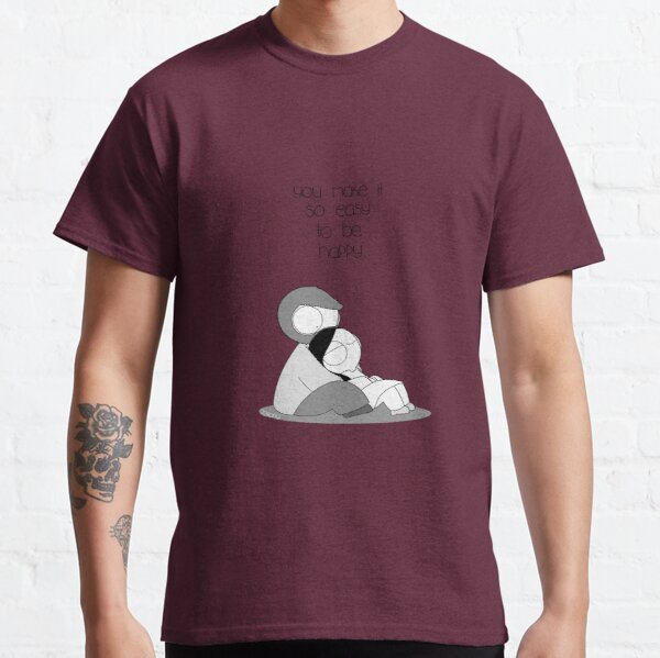 Easy To Be Happy Classic T-Shirt