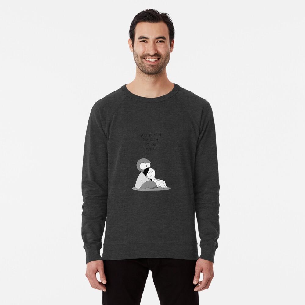 Easy To Be Happy Lightweight Sweatshirt