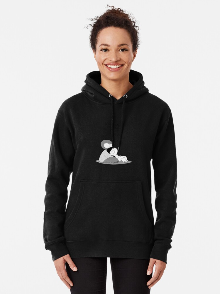 Alternate view of Easy To Be Happy Pullover Hoodie